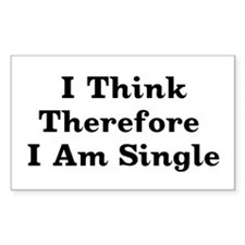 Free And Single Rectangle Decal