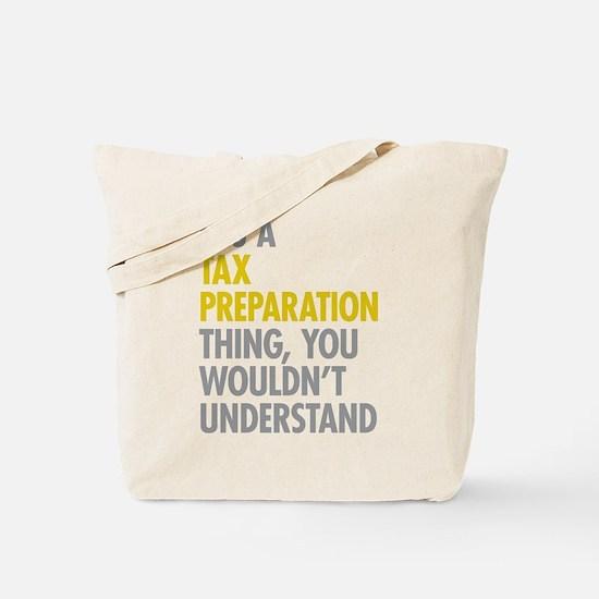Tax Preparation Tote Bag