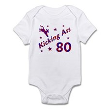 Kicking Ass 80 * Infant Bodysuit