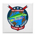 USS Clarion River (LSMR 409) Tile Coaster