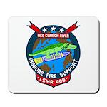 USS Clarion River (LSMR 409) Mousepad