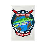 USS Clarion River (LSMR 409) Rectangle Magnet