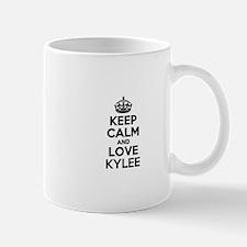 Keep Calm and Love KYLEE Mugs