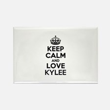 Keep Calm and Love KYLEE Magnets