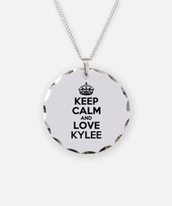 Keep Calm and Love KYLEE Necklace