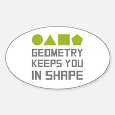 Unique Math teacher Sticker (Oval)
