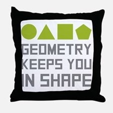 Unique Math teacher Throw Pillow