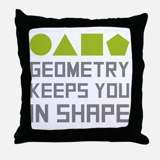 Cute Geometry Throw Pillow