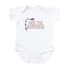 Reindeer Infant Bodysuit