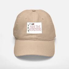 Reindeer hat/Baseball Baseball Cap