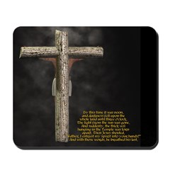 Crucified (Back View) Mousepad
