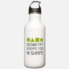 Geometry Shapes Sports Water Bottle