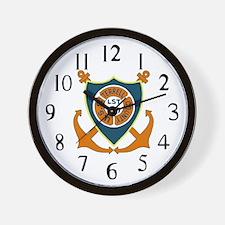 USS Terrell County (LST 1157) Wall Clock