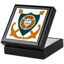 USS Terrell County (LST 1157) Keepsake Box