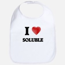 I love Soluble Bib