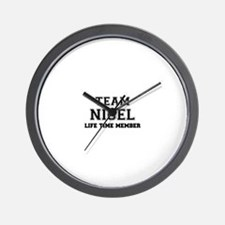 Team NIGEL, life time member Wall Clock