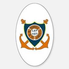 USS Terrell County (LST 1157) Oval Decal