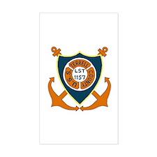 USS Terrell County (LST 1157) Sticker (Rectangular