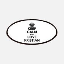 Keep Calm and Love KRISTIAN Patch