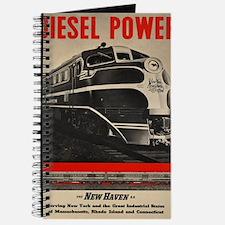 Unique New haven railroad Journal