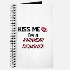 Kiss Me I'm a KNITWEAR DESIGNER Journal