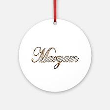 Cute Maryam Round Ornament
