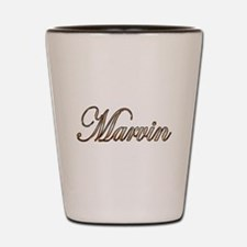 Cool Marvin Shot Glass