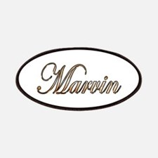 Gold Marvin Patch