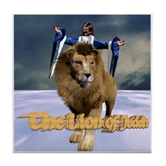 The Lion of Judah - Tile Coaster