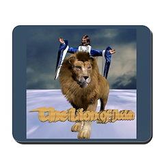 The Lion of Judah Mousepad