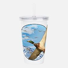 Waterfowl 2 Acrylic Double-wall Tumbler