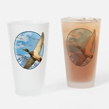 Waterfowl 2 Drinking Glass