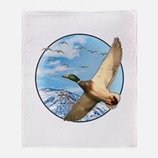 Waterfowl 2 Throw Blanket