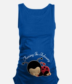 February Due Date Pregnancy Maternity Tank Top