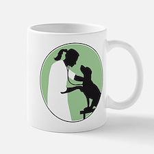 female veterinarian Mugs