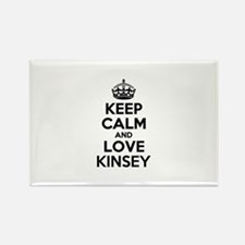 Keep Calm and Love KINSEY Magnets