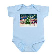 Xmas Magic & Sloughi Infant Bodysuit
