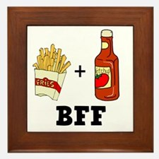 Ketchup & French Fries BFF Framed Tile