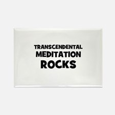 Transcendental Meditation Roc Rectangle Magnet