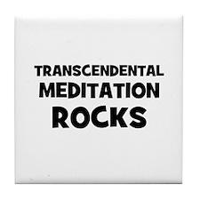 Transcendental Meditation Roc Tile Coaster