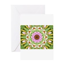 Monarch Kaleidoscope Greeting Card