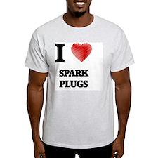 I love Spark Plugs T-Shirt