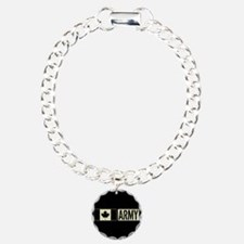 Canadian Military: Army Charm Bracelet, One Charm