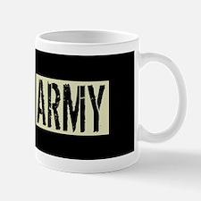 Canadian Military: Army (Black Flag) Mug