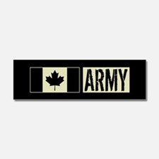 Canadian Military: Army (Black F Car Magnet 10 x 3