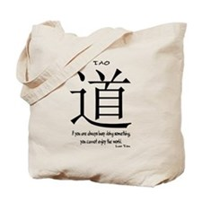 Tao Lao Tzu Quote Tote Bag