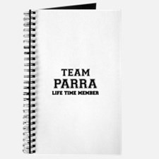 Team PARRA, life time member Journal