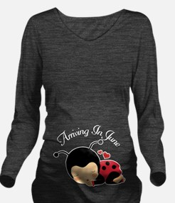 June Due Date Pregnancy Long Sleeve Maternity T-Sh