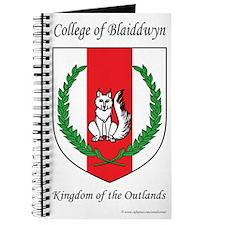 Blaiddwyn Journal