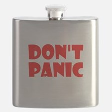 Dont Panic Hitchhikikers Flask